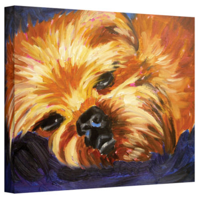Brushstone Mama It's been a Long Day Gallery Wrapped Canvas Wall Art