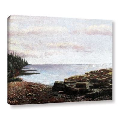 Brushstone Brushstone Lakeside Gallery Wrapped Canvas Wall Art