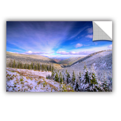 Brushstone Winter Lands II Removable Wall Decal