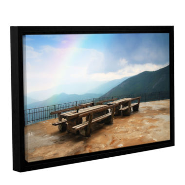 Brushstone Brushstone Morning Glory 2013 Gallery Wrapped Floater-Framed Canvas Wall Art