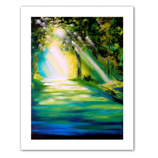 Brushstone Misty Morning Canvas Wall Art