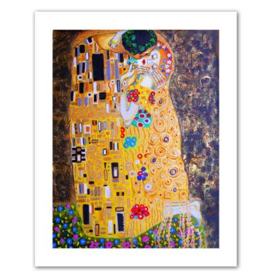 Brushstone My Klimt Kiss Canvas Wall Art