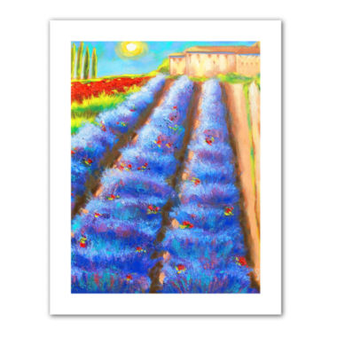 Brushstone Provence Rows Canvas Wall Art