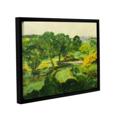 Brushstone Coton In The Elms Gallery Wrapped Floater-Framed Canvas Wall Art