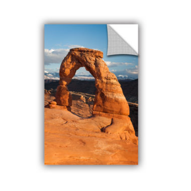 Brushstone Delicate Arch Daytime Vertical Removable Wall Decal