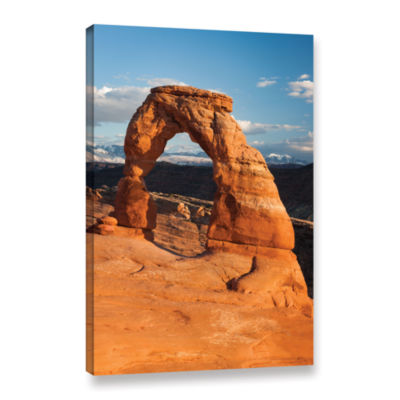 Brushstone Brushstone Delicate Arch Daytime Vertical Gallery Wrapped Canvas Wall Art