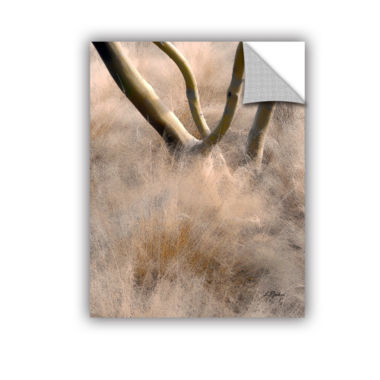 Brushstone Desert Grasses Removable Wall Decal