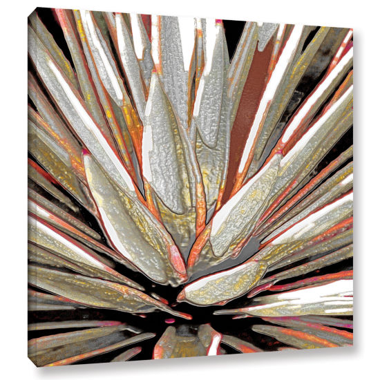 Brushstone Desert Agave Gallery Wrapped Canvas Wall Art