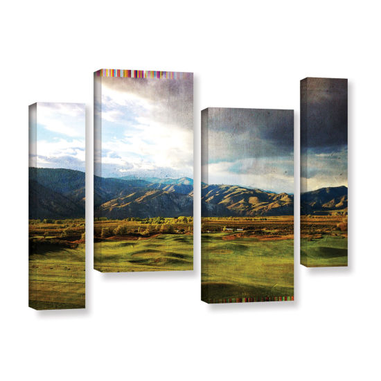 Brushstone Day At The Range 4-pc. Gallery WrappedStaggered Canvas Wall Art