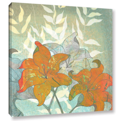 Brushstone Day Lilies Gallery Wrapped Canvas Wall Art