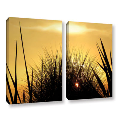 Brushstone Deep In July 2-pc. Gallery Wrapped Canvas Wall Art