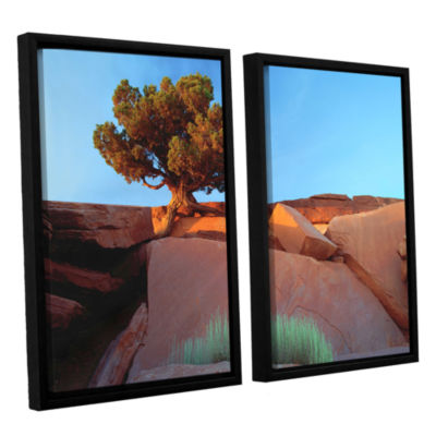 Brushstone Dead Horse Point 2-pc. Floater Framed Canvas Wall Art