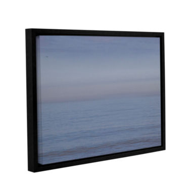 Brushstone Dead Calm Gallery Wrapped Floater-Framed Canvas Wall Art