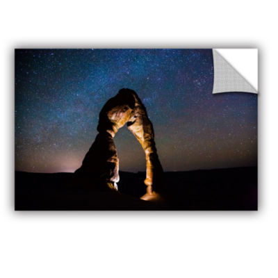 Brushstone Delicate Arch Under The Stars RemovableWall Decal