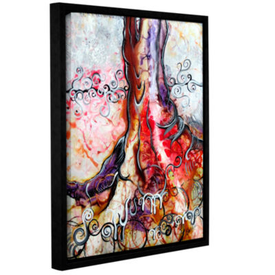 Brushstone Deeply Rooted IV Gallery Wrapped Floater-Framed Canvas Wall Art