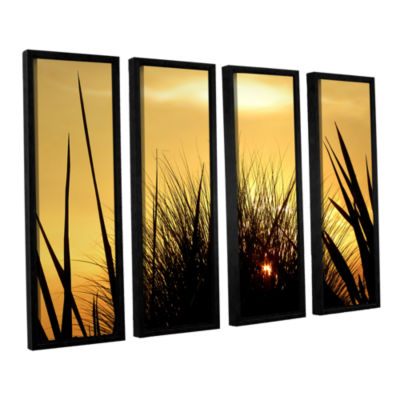 Brushstone Deep In July 4-pc. Floater Framed Canvas Wall Art