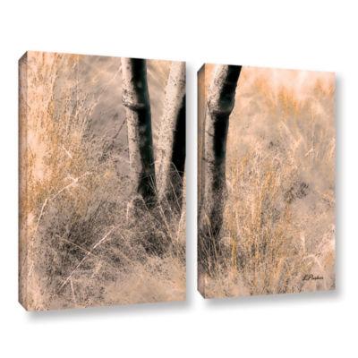 Brushstone Desert Grasses II 2-pc. Canvas Art