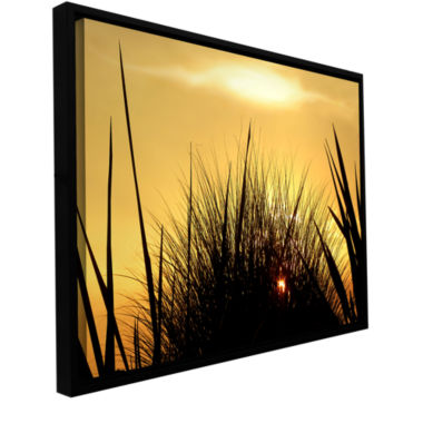 Brushstone Deep In July Gallery Wrapped Floater-Framed Canvas Wall Art