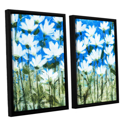 Brushstone Delicate Lace 2-pc. Floater Framed Canvas Wall Art