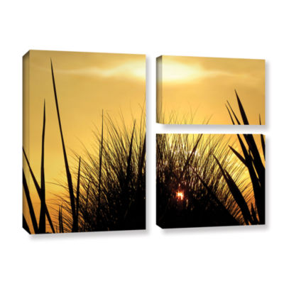 Brushstone Brushstone Deep In July 3-pc. Flag Gallery Wrapped Canvas Wall Art