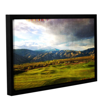 Brushstone Day At The Range Gallery Wrapped Floater-Framed Canvas Wall Art