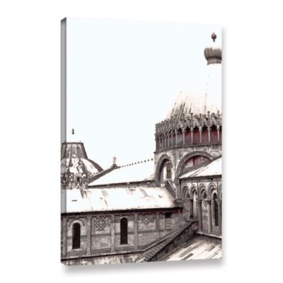 Brushstone Brushstone Daybreak On The Duomo Pisa Gallery Wrapped Canvas Wall Art