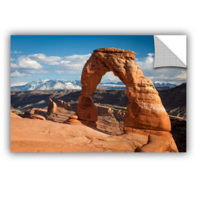 Brushstone Delicate Arch Daytime Horizontal Removable Wall Decal