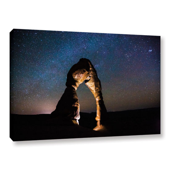 Brushstone Brushstone Delicate Arch Under The Stars Gallery Wrapped Canvas Wall Art