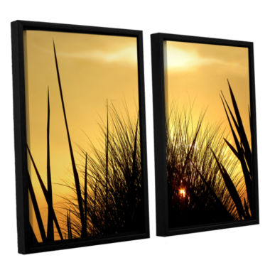 Brushstone Deep In July 2-pc. Floater Framed Canvas Wall Art