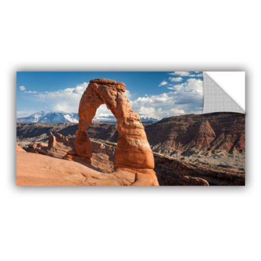 Brushstone Delicate Arch Daytime Panoramic Removable Wall Decal