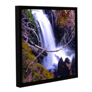 Brushstone Crawdad Creek Gallery Wrapped Floater-Framed Canvas Wall Art