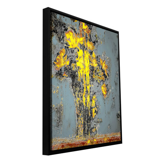 Brushstone Derangement Gallery Wrapped Floater-Framed Canvas Wall Art