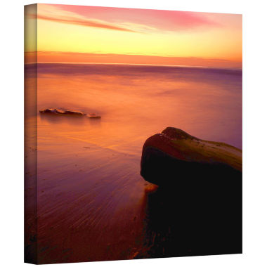Brushstone Brushstone Deep Twilight Gallery Wrapped Canvas Wall Art
