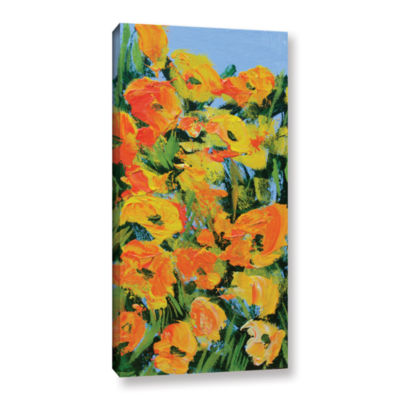 Brushstone Brushstone Coughton Court Garden Gallery Wrapped Canvas Wall Art