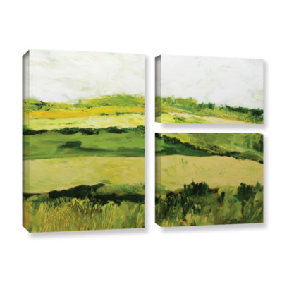 Brushstone Brushstone Cottonworth 3-pc. Flag Gallery Wrapped Canvas Wall Art