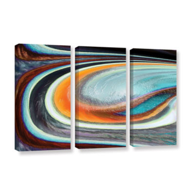 Brushstone Brushstone Currents 3-pc. Gallery Wrapped Canvas Wall Art