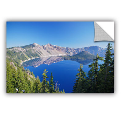 Brushstone Crater Lake Removable Wall Decal