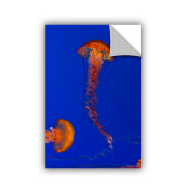Brushstone Crossing Pacific Sea Nettles 2 Removable Wall Decal