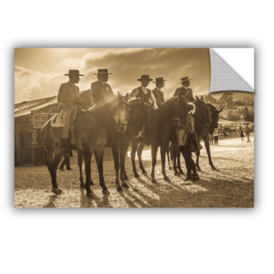 Brushstone Cowboy Talk Removable Wall Decal