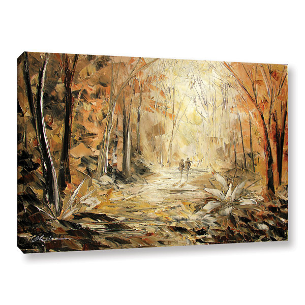 Brushstone Brushstone Couple's Stroll Gallery Wrapped Canvas Wall Art