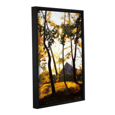 Brushstone Crandall Park Gallery Wrapped Floater-Framed Canvas Wall Art