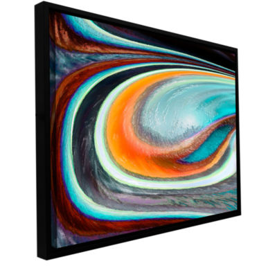 Brushstone Currents Gallery Wrapped Floater-Framed Canvas Wall Art