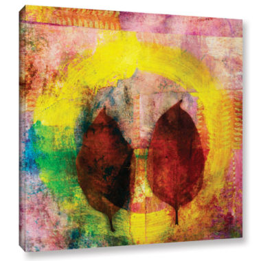 Brushstone Cycle Of Life Gallery Wrapped Canvas Wall Art