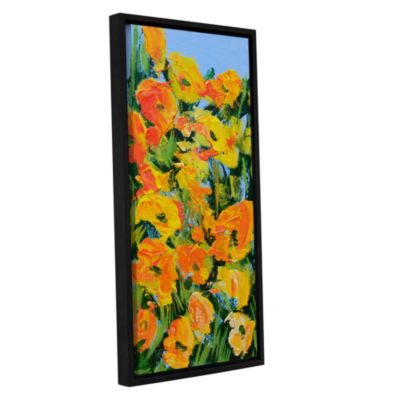 Brushstone Coughton Court Garden Gallery Wrapped Floater-Framed Canvas Wall Art