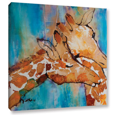 Brushstone Brushstone Cuddle Ii Gallery Wrapped Canvas Wall Art