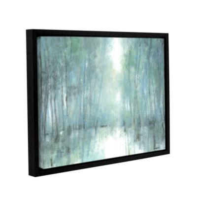 Brushstone Crisp Breeze Gallery Wrapped Floater-Framed Canvas Wall Art