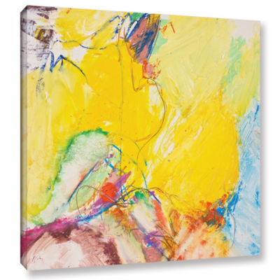 Brushstone Crystal Gallery Wrapped Canvas Wall Art