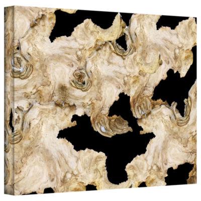 Brushstone Brushstone David Gallery Wrapped CanvasWall Art