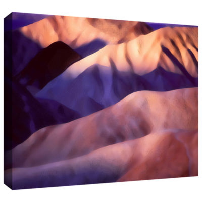 Brushstone Brushstone Death Valley Sun Rise Gallery Wrapped Canvas Wall Art