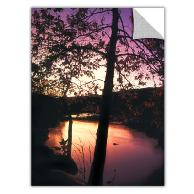Brushstone Deer Creek Afterglow Removable Wall Decal